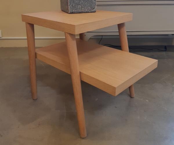 mesa auxiliar dos niveles