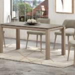 Mesa de comedor gris