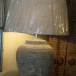 Pie de lámpara cerámico y color mate