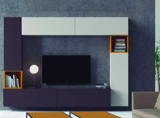 Composición mobiliario salón