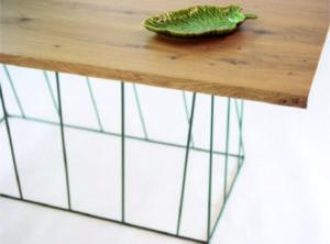 mesa de comedor con pata original