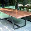 mesa de comedor irregular