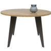 mesa redonda tapa madera