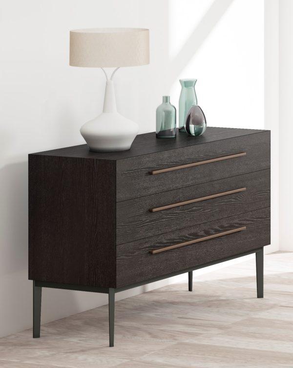 Cómoda moderna de madera