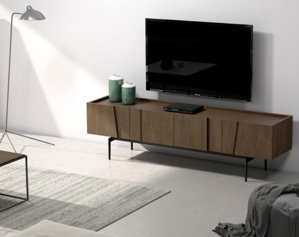 Mueble TV vanguardista