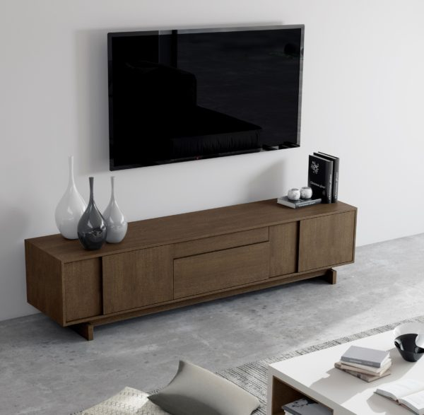 Mueble TV de nogal