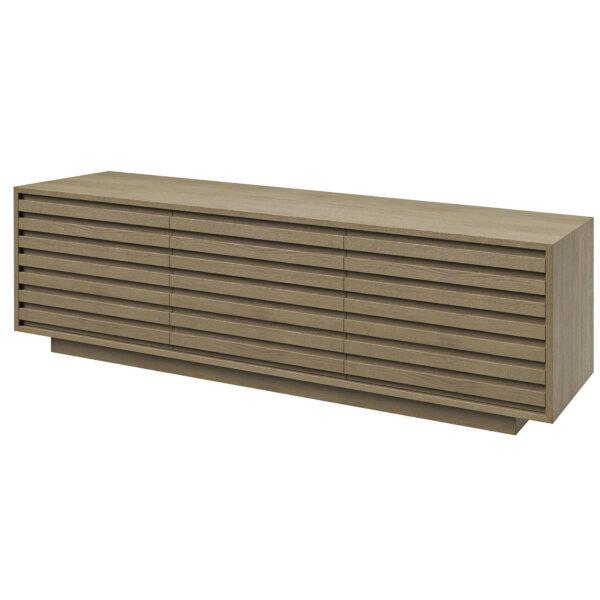 Mueble TV base de madera